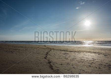 Beach On The North Sea