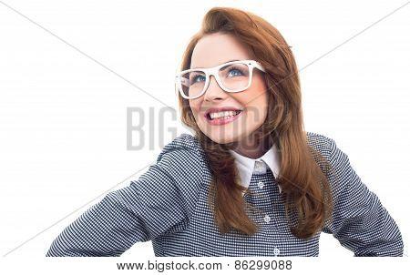 Close-up Trendy Woman