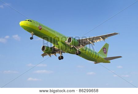 S7 Airlines Airbus