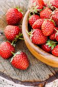 image of birching  - Strawberries - JPG