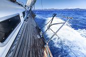 picture of yacht  - Sailing - JPG