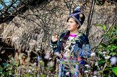 picture of hmong  - Giang Tu Thao Ethnic girl  18 year old  - JPG