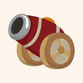 picture of cannon-ball  - cannon theme elements - JPG