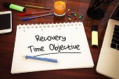 picture of objectives  - Recovery Time Objective  - JPG