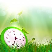 picture of daylight saving time  - Time concept - JPG