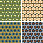 picture of octagon  - seamless colored octagon pattern set in different colors - JPG