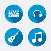 picture of musical symbol  - Musical elements icons - JPG