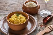 picture of saffron  - Risotto With Saffron - JPG