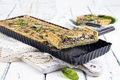 stock photo of tarts  - Tuna Tarte - JPG