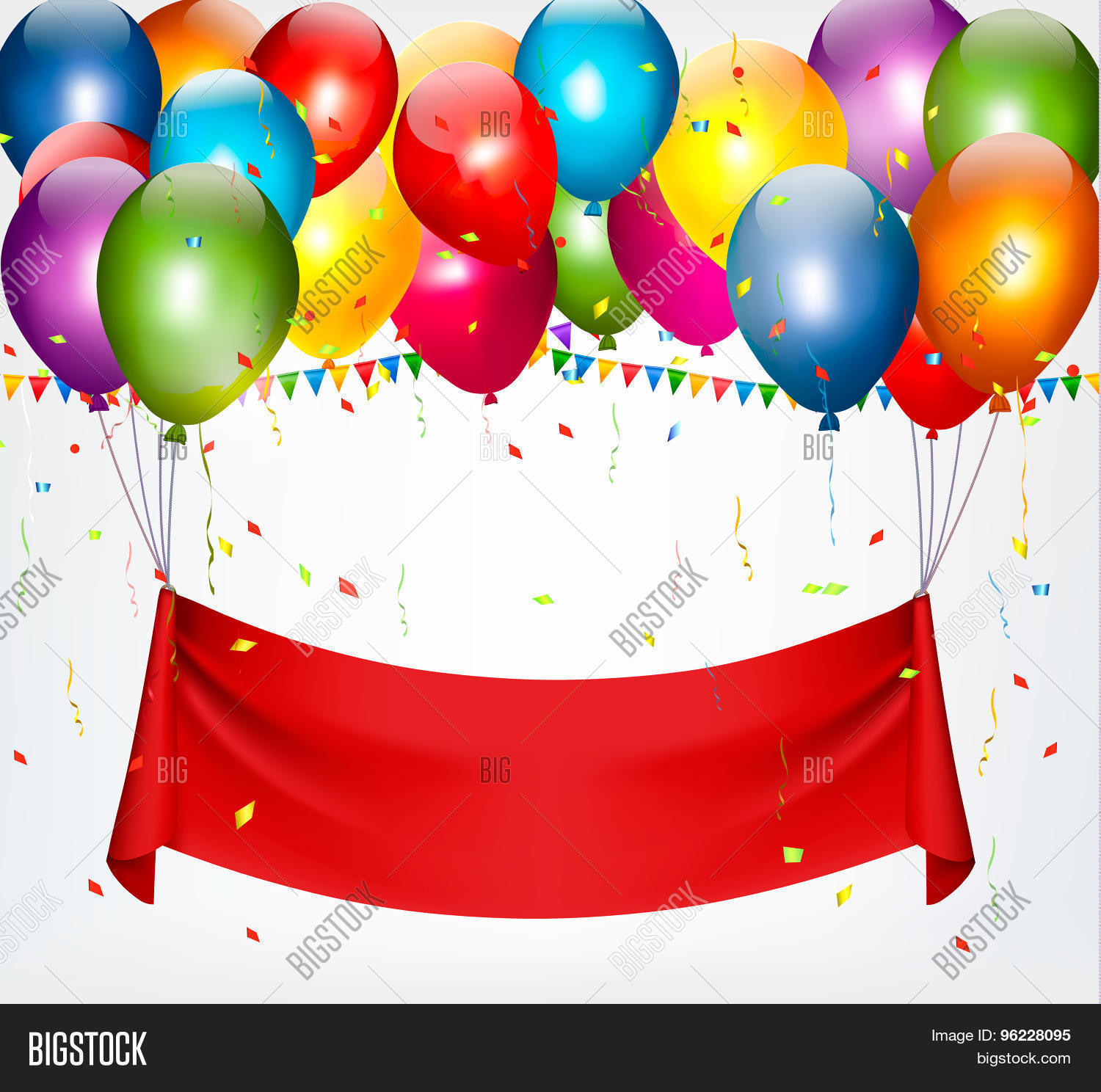 happy birthday banner background vector stock vector & stock