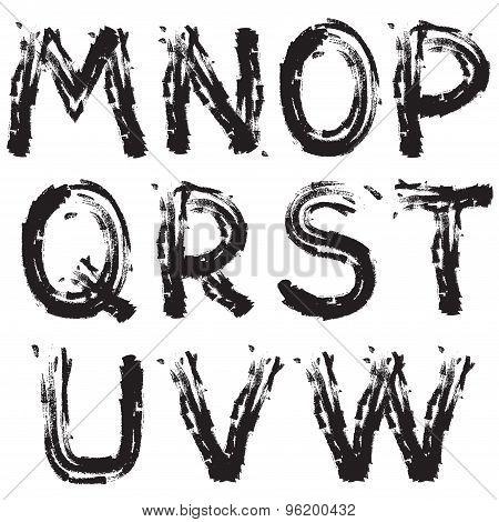 Grunge font next