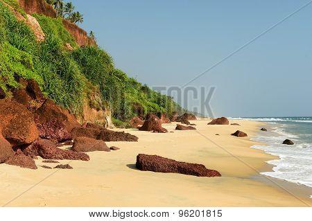 Beach In India