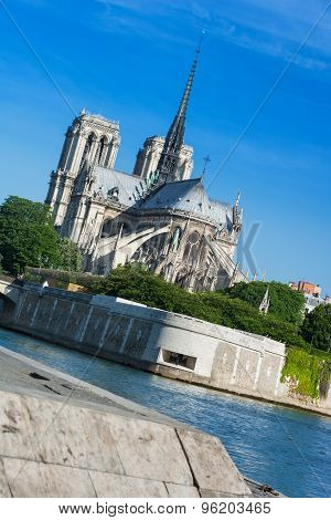 Notre Dame De Paris, Ile De La Cite, Paris, France