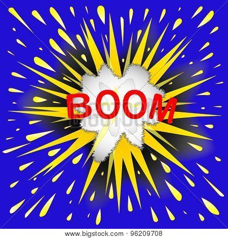 Boom Cartoon Bubble