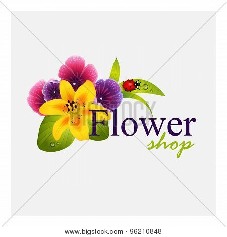 Concept identity for flower shop