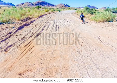 Road C 27 In Namibia