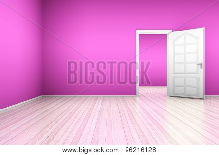 Pink Apartment.