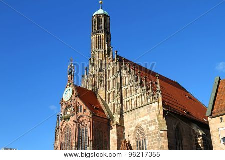 The Frauenkirche In Nuremberg