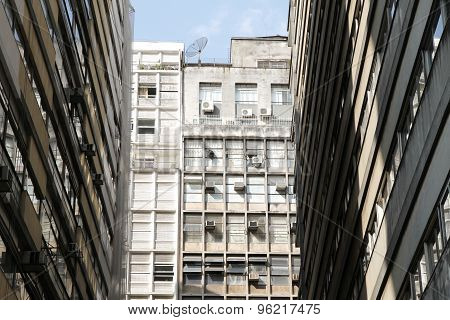 Architecture In Sao Paulo.
