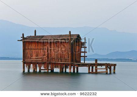 Dojran Lake At Dusk