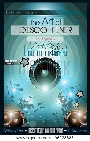 Club Disco Flyer Set without DJs and Colorful Scalable backgrounds. A lot of diffente style flyer for your techno, hip hop, electro or metal  music event Posters and advertising