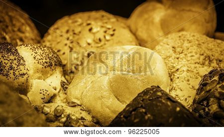 Loafs Of Bread And Bread Rolls