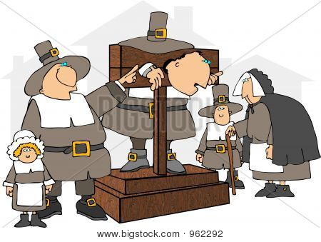 Pilgrim In A Pillory