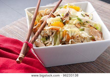 Mandarin Orange Summer Salad With Chicken