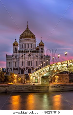 Cathedral Of Jesus Christ The Saviour, Moscow, Russia