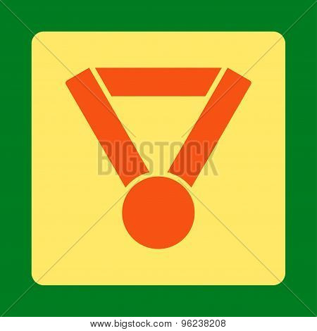 Champion award icon from Award Buttons OverColor Set