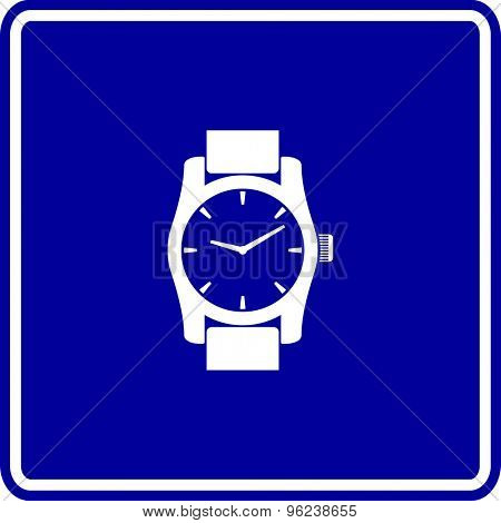wrist watch sign