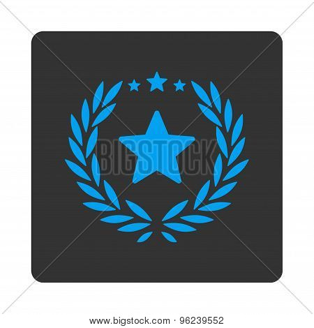 Proud icon from Award Buttons OverColor Set