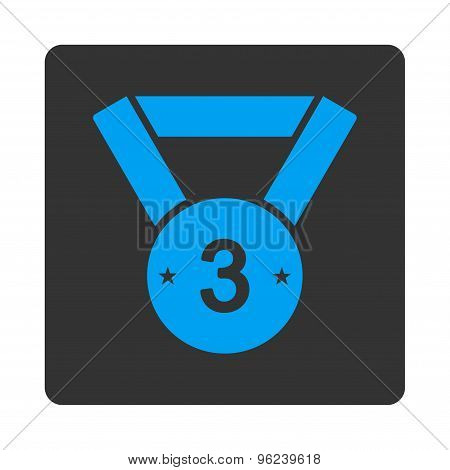 Third medal icon from Award Buttons OverColor Set