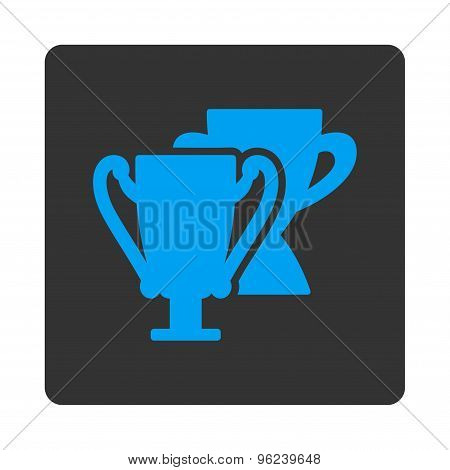 Trophy cups icon from Award Buttons OverColor Set