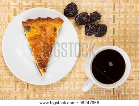 Prunes And Coffee Pie