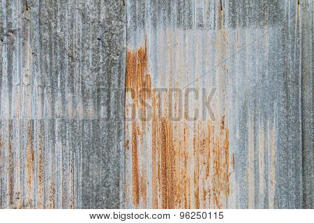 Galvanized Sheet With Rust Texture