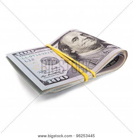 Roll Of 100 Bill Dollars