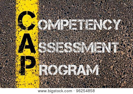 Business Acronym Cap As Competency Assessment Program