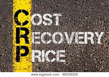 Business Acronym Crp As Cost Recovery Price