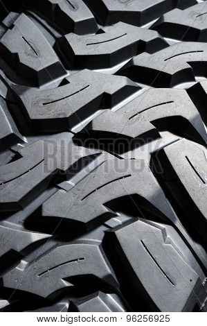 Tire protector pattern