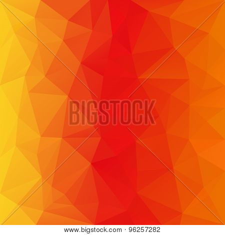 Vector Polygonal Background Triangular Design In Bright Color