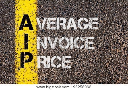 Business Acronym Aip As Average Invoice Price