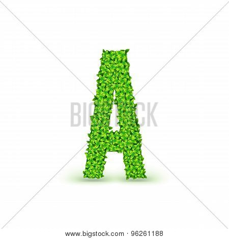 Green Leaves font A.