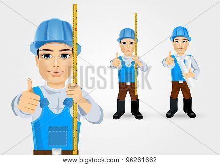 construction engineer worker builder