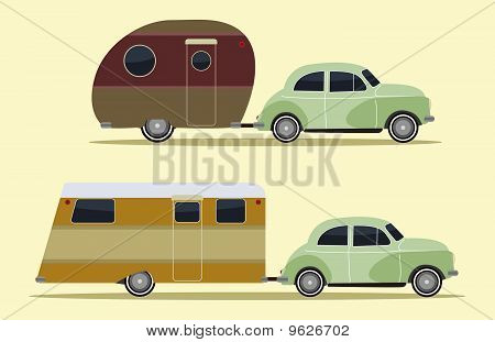 Vintage Camping Cars