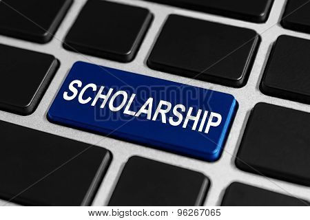 Scholarship Button On Keyboard