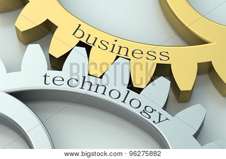 Business And Technology  Concept