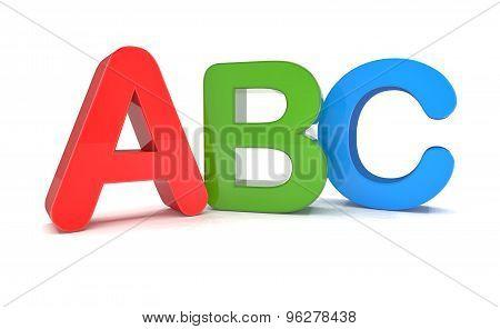 3D Text - Abc