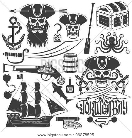 creating pirate logo