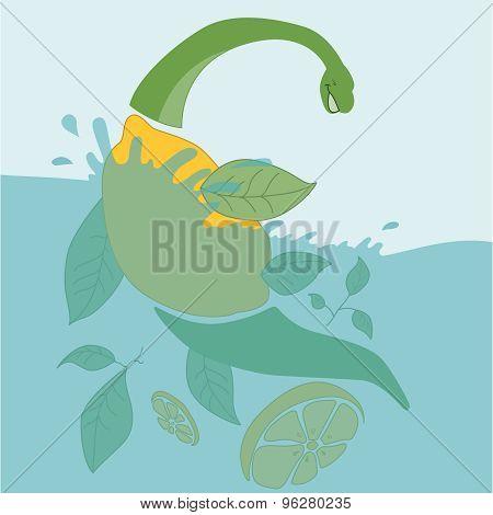 fruit dinosaur